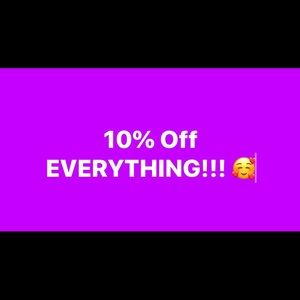 Other - 10% of my entire closet!!! 😇